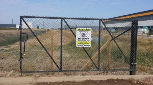 Construction site signage